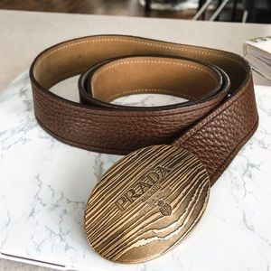 ✨ Prada Leather Belt ✨